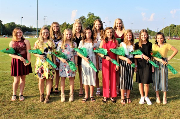 MCMS Homecoming Court