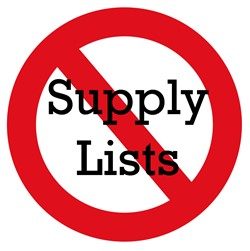 No Supply LIsts