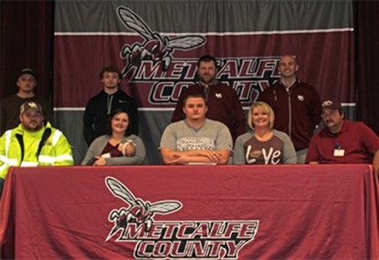 Colton signing with Campbellsville.
