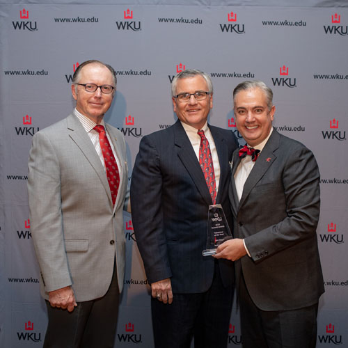 Dr. Lile WKU Volunteer Award