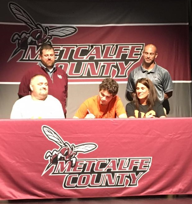 MCHS Quarterback Jake Dial Signs with Union College